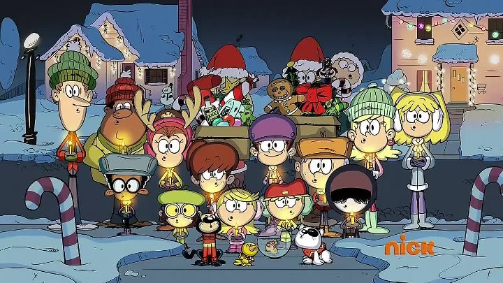 The loud house Merry christmas song