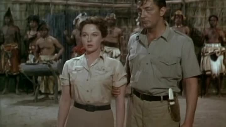 White Witch Doctor 1953 -Robert Mitchum, Susan Hayward, Walter Slezak, Timothy Carey