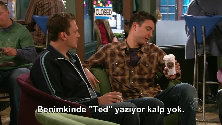 HOW I MET YOUR MOTHER 2.SEZON 7.BÖLÜM