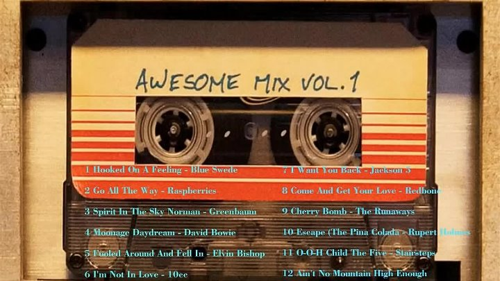 Guardians of the Galaxy׃ Awesome Mix Vol. 1 (Original Motion Picture Soundtrack)