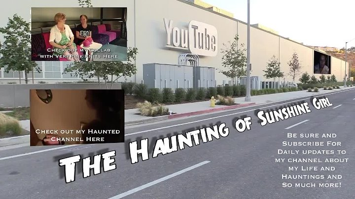 The YouTube Space LA is Haunted - Tour of the Space