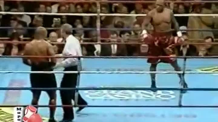 Майк Тайсон - Клиффорд Этьен 56 (2) Mike Tyson vs Clifford Etienne