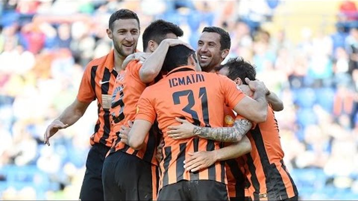 Shakhtar 3-2 Zorya. Highlights (6/05/2017)