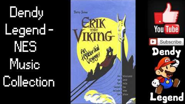 Erik the Viking NES Music Song Soundtrack - Peace In The Harbor [HQ] High Quality Music