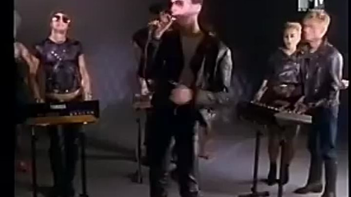Depeche Mode - Just Can't Get Enough (MTV 1981)