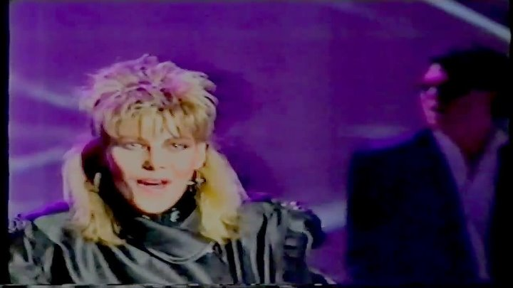 C.C. Catch - Medley (Menschen 86) [very rare video with a medley of her songs]
