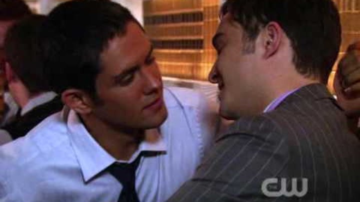 GOSSIP GIRL: Chuck Bass' Gay Kiss