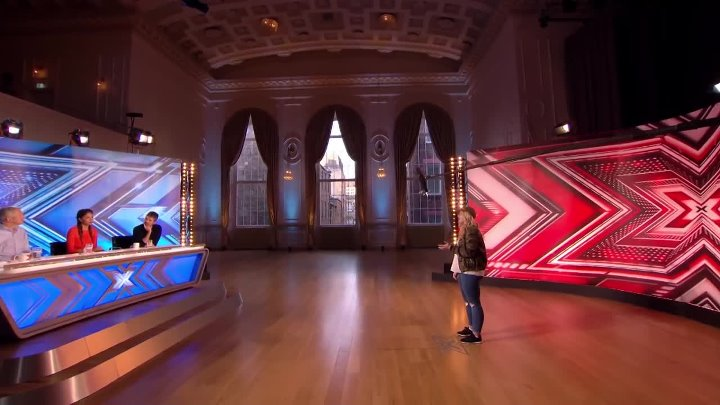 Caitlyn leaves - Auditions Week 1 - The X Factor UK 2016