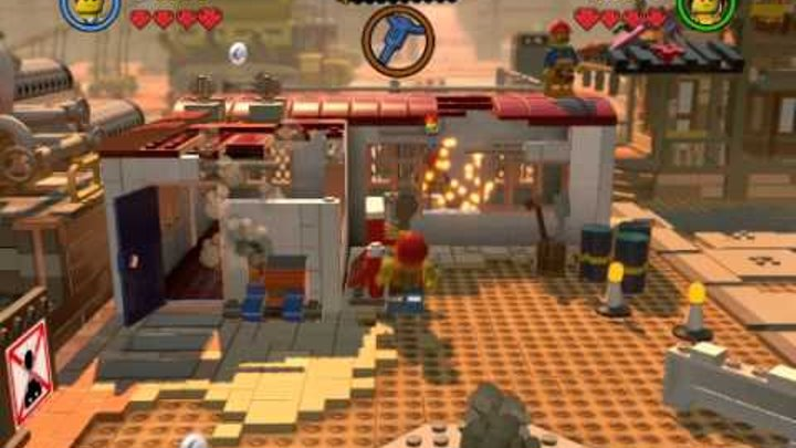 Lego Movie № 1 прохождение everything is awesome