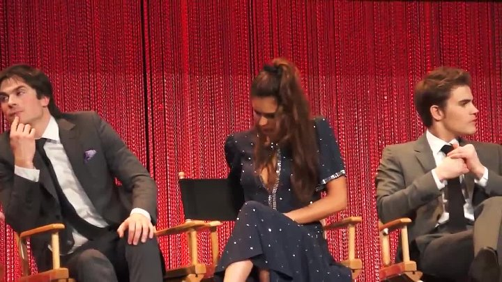 The Vampire Diaries Q & A #2 With Ian, Paul, Nina, Caroline Dries & Julie Plec (3-21-14)