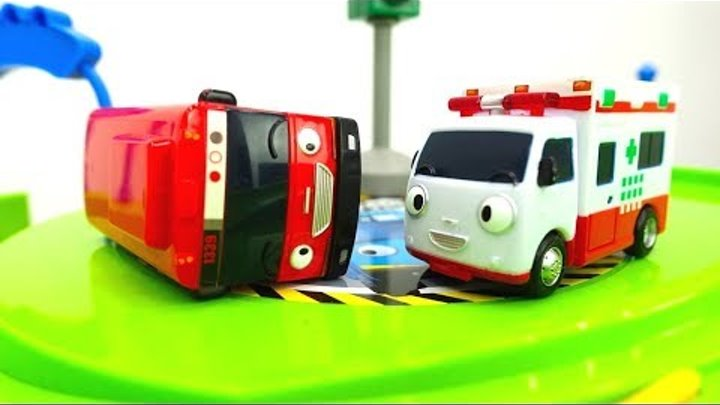 Tayo bus & tayo toys learning for kids. Truck & toy cars learn transportation. Tayo the little bus