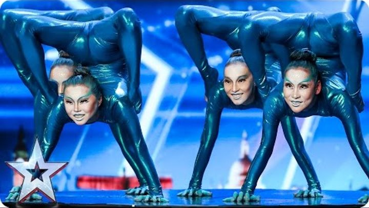 Angara Contortion are out of this world | Auditions Week 4 | Britain's Got Talent 2017