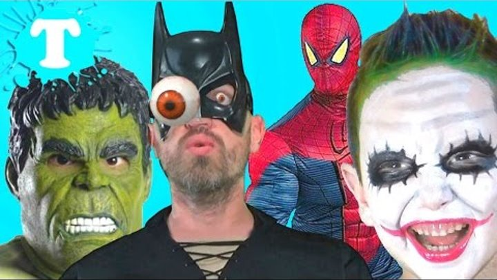 BAD BABY JOKER vs Batman Freaky Spiderman Hulk CRUSHED ДЖОКЕР Халк in Real Life Compilation IRL