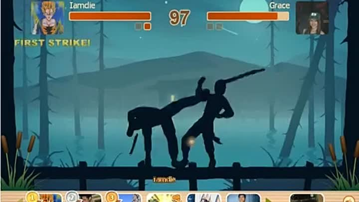 shadow fight - win in 10 second