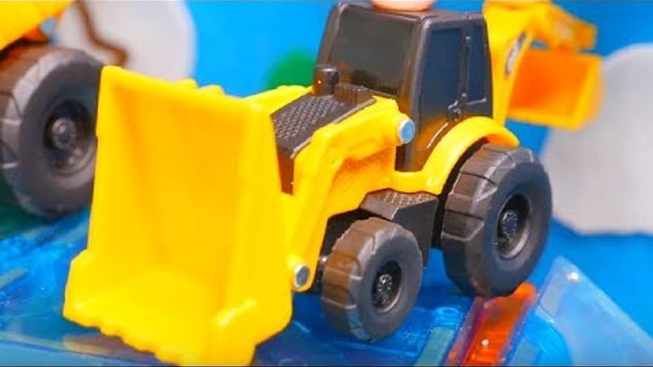 Toys Cars for Children. Toy truck & Toy cars videos for kids 🚚 Big trucks for children: boat show