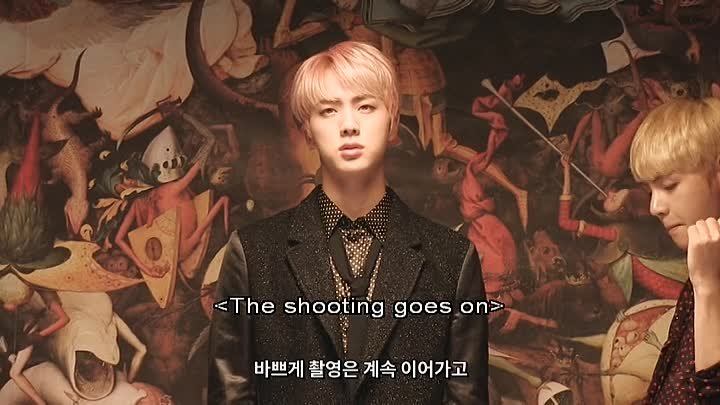 Bts Memories Of 2016 Disc 3 - Blood Sweat and Tears MV Making Story (Eng Sub)