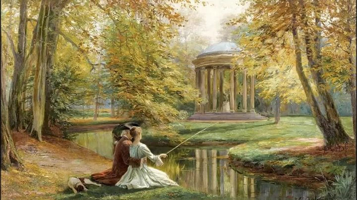 Jules Girardet (1856-1930) French painter ✽ Romantic music