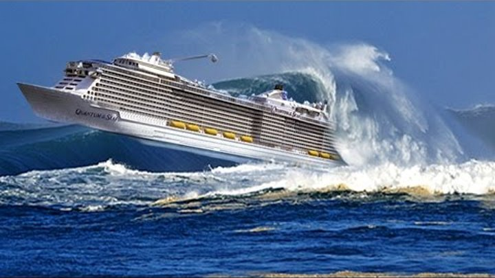 TOP 10 SHIPS in STORM and CRASH! Monster Waves! Incredible Video You Must See