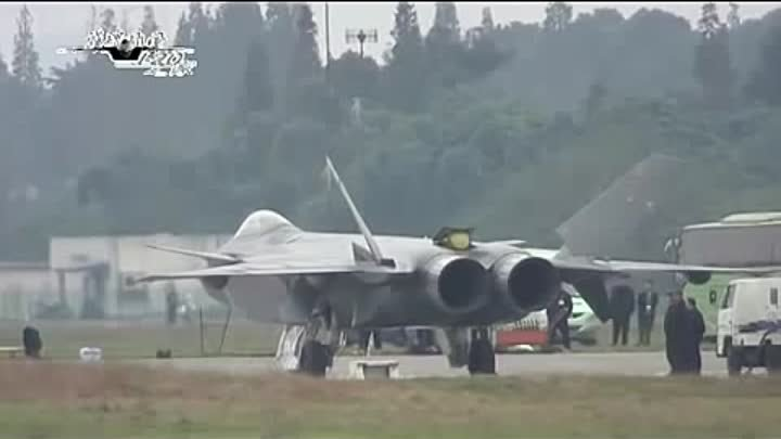 China tests ADVANCED STEALTH Aircraft J 20 rival to the US Air force F22 and F35.avi