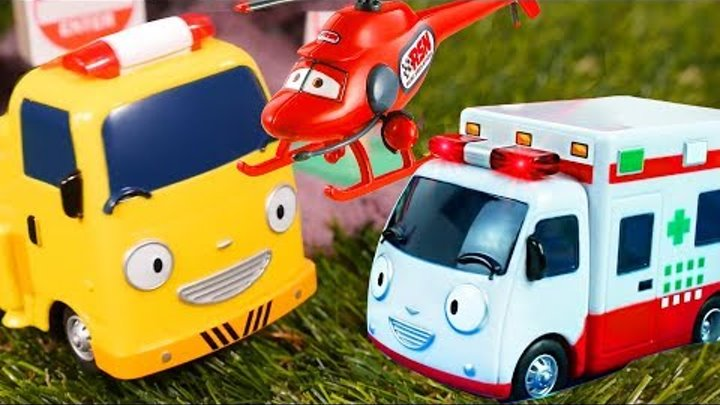 Truck toys & cars for kids. Vehicles for kids. Learning videos & videos for kids. Tayo toys.