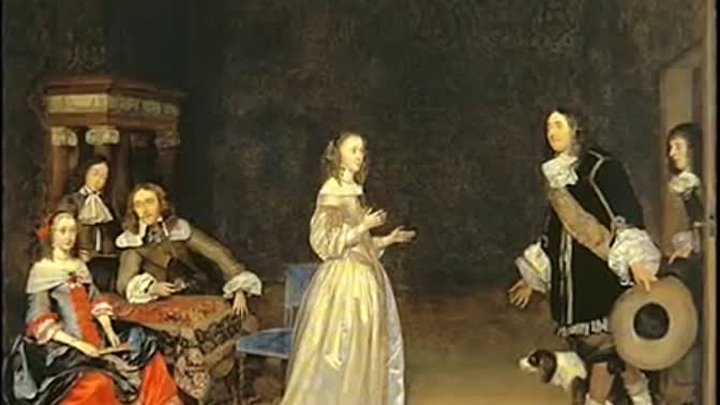 Genre paintings (ter Borch)-Терборх, Герард. 1617-1681