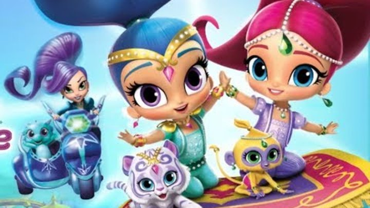 мультик игра, Шиммер и Шайн на русском, гонка в Зарамэй, Shimmer and Shine, #kids, fun kids games