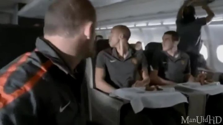 Turkish Airlines Manchester United Commercial 2010 - (Yeni reklam) HD