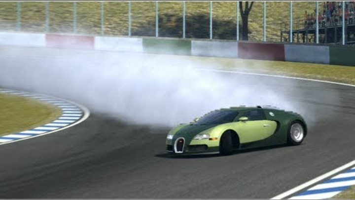 Gran Turismo 5 Drift | Bugatti Veyron 16.4 2009 | Autumn Ring