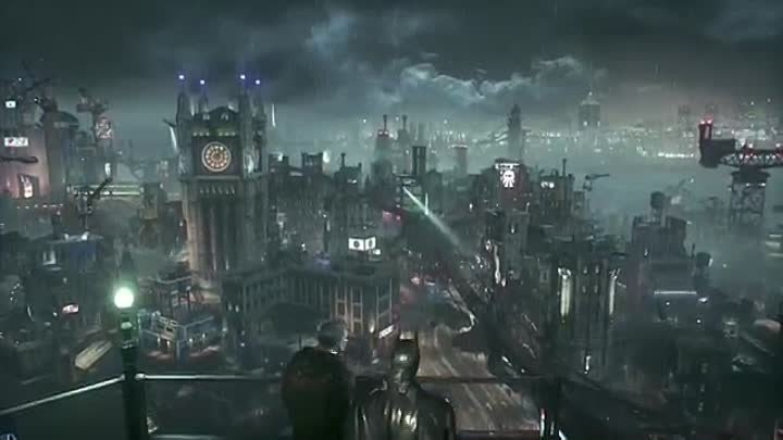 "The Official Batman- Arkham Knight Gameplay Video – ""Officer Down"""