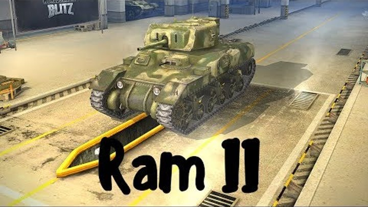 Ram II (прем танк 5 уровня). World of Tanks Blitz. Летсплей