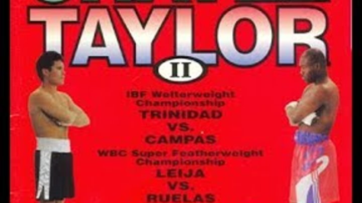 Julio Cesar Chavez KOs Meldrick Taylor This Day September 17, 1994