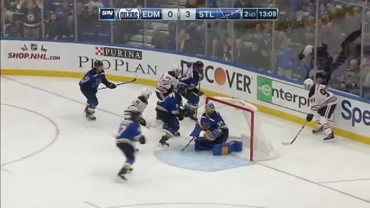 Tarasenko trades punches with Benning after attempted hit