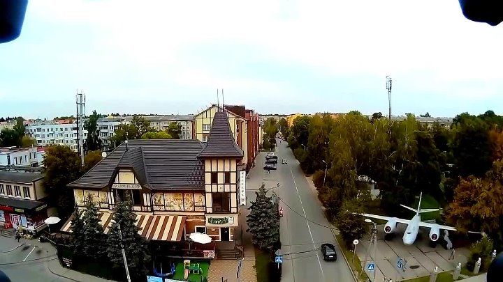 ЧКАЛОВСК КАЛИНИНГРАД 2015 Съёмка с Flying 3D X8 Quadcopter (1)