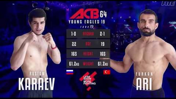 "ACB 64 ""Young Eagles 19"": Furkan Ari (Turkey) vs Rustam Karaev (Russia)"