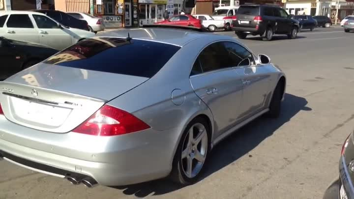 cls 55 v8 kompressor drift in the town