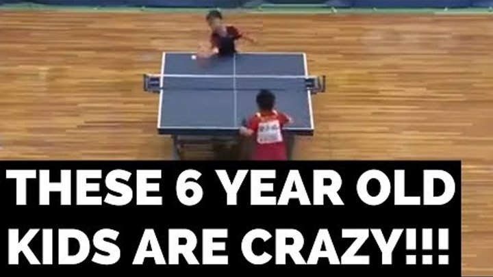 THE MOST INTENSE TABLE TENNIS MATCH EVER!
