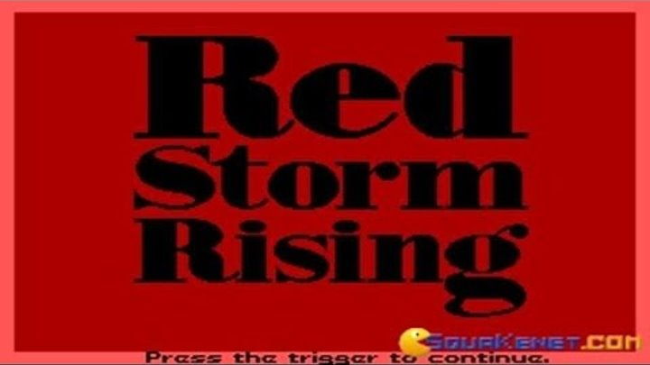 Red Storm Rising gameplay (PC Game, 1988)