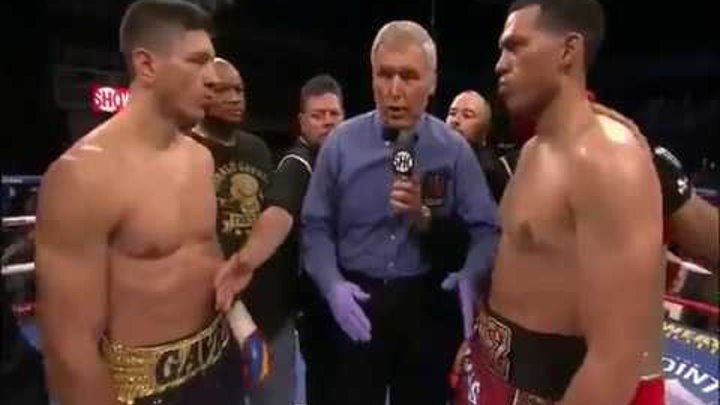 David Benavidez vs Ronald Gavril Full Fight 2017 Highlights