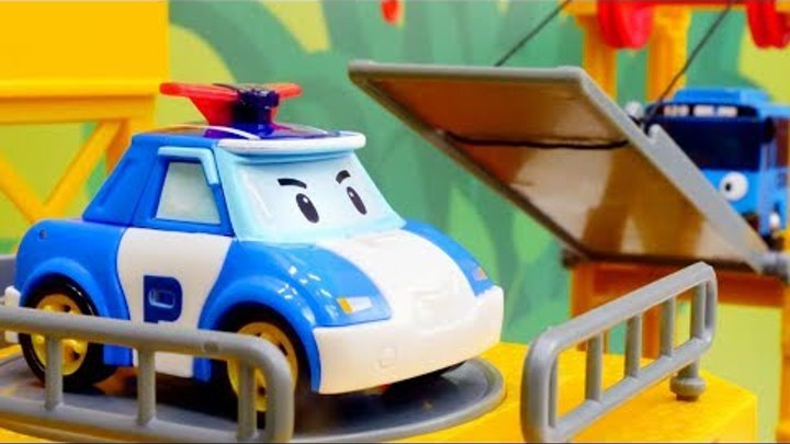 🚌 Tayo toys & robocar Poli 🚓 Cars for kids. Truck toys & cars for kids. Toy trucks videos.