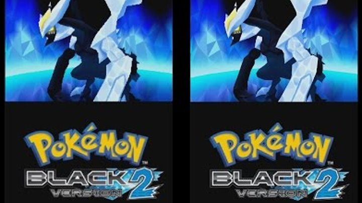Pokemon Black 2 Intro on Desmume Native x4
