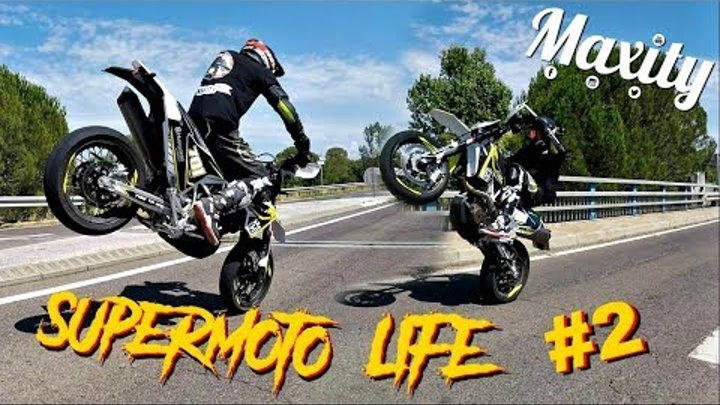 SUPERMOTO LIFE #2 ➜ Supercross, Wheelings et Arsouille 🔥🏁