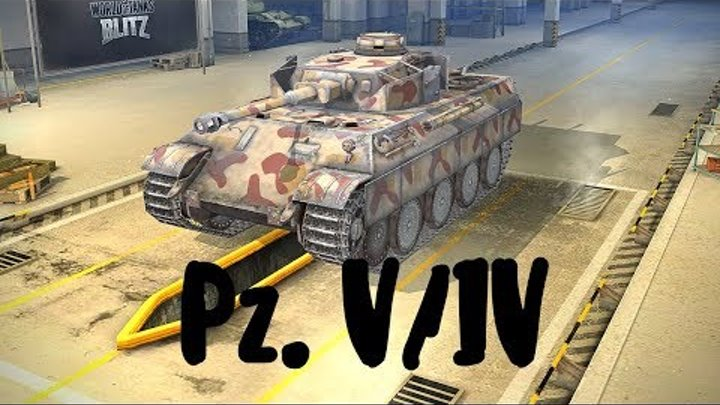 Pz. V/IV (прем танк 5 уровня). World of Tanks Blitz. Летсплей