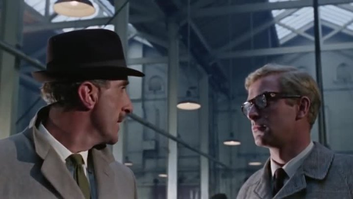 The Ipcress File Crime Thriller (1965) Michael Caine, Nigel Green , Guy Doleman (Eng).
