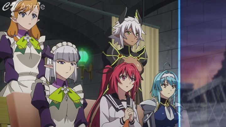 [Arabsama.com] Shinmai Maou no Testament Burst S2 [Blue ray] - 09