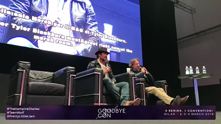 Ian at GoodBye Con