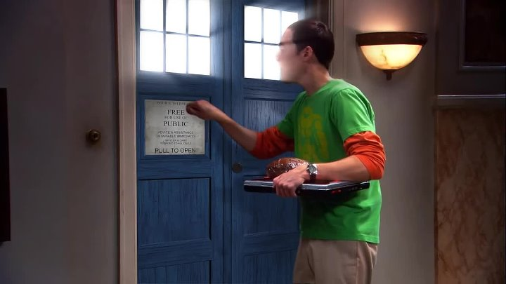 Doctor Who meets The Big Bang Theory. Доктор и Шелдон