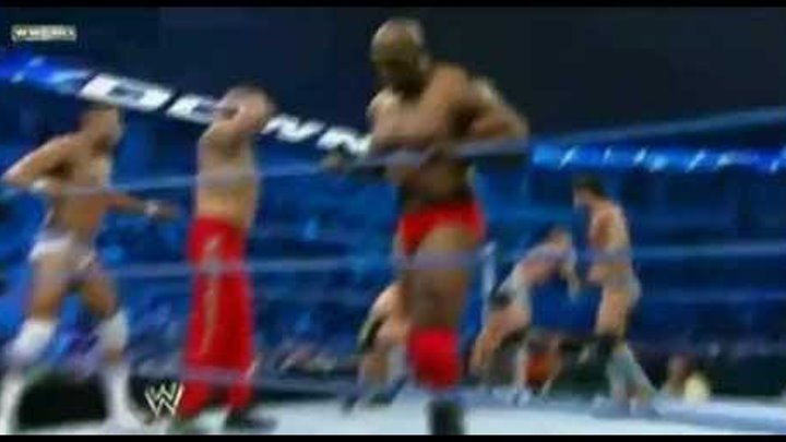 Sin Cara Battle Royal Smackdown 19 Agosto 2011 wwe