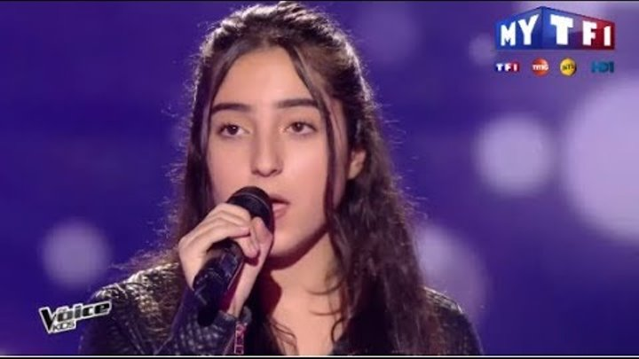The Voice Kids 2017 | Monica - I have nothing (Withney Houston ) | Blind Audition