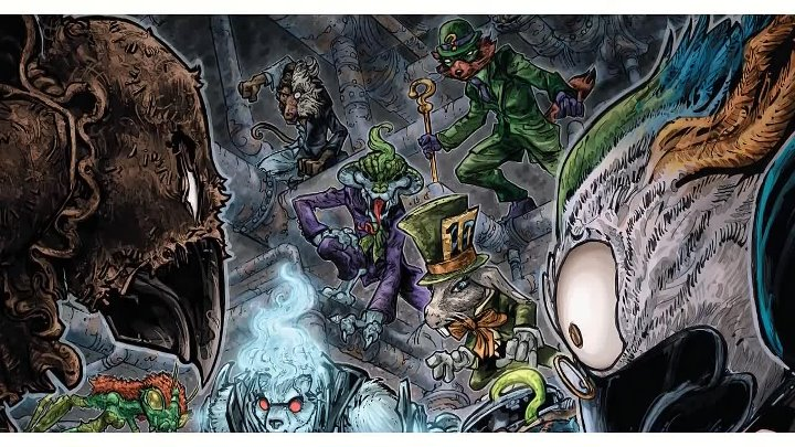 Мутанты Аркхема. Бэтмен Черепашки Ниндзя. Dc comics. Batman Teenage Mutant Ninja Turtles