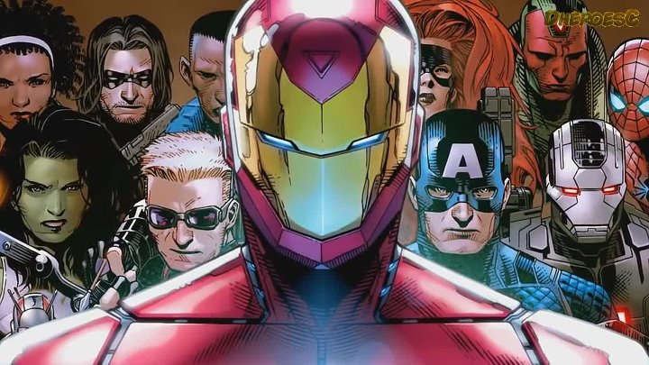 Трейлер Гражданская Война II. Civil War II . Marvel Comics.